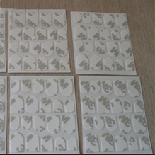 Die-cutting products double-sided adhesive