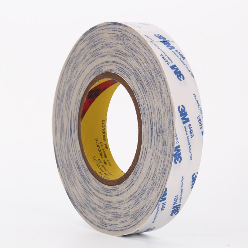 3M9448A white double-sided tape mobile phone screen 3M strong double-sided adhesive fixed 50 meters long